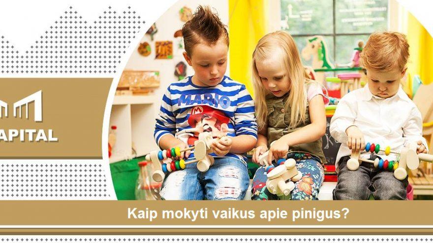 """""""Kaip mokyti vaikus apie pinigus?"""" Vilniuje"""