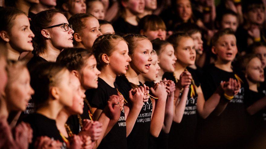 5 dienos, pakeitusios Lietuvą   Jungtinis Lietuvos vaikų choras