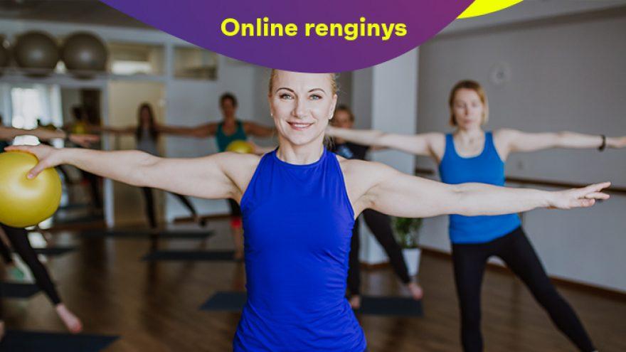 "Online: Treniruotė  Nr. 8 ""Pilates su Larisa Markevičiene"""