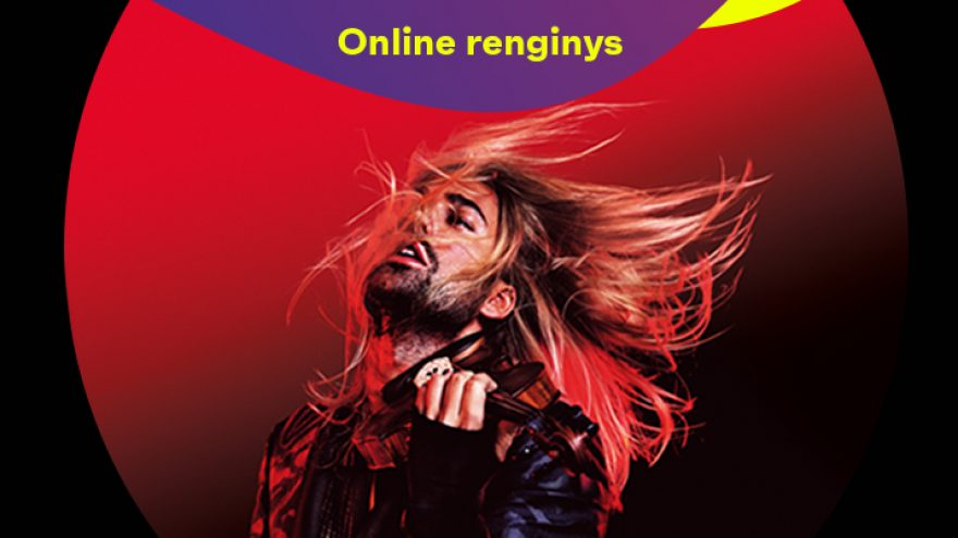 """Online: DAVID GARRETT & HIS BAND""""EXPLOSIVE LIVE"""" on the Queen Mary 2"""