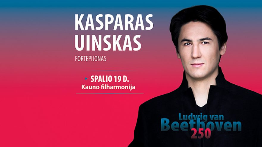 Kasparas Uinskas – fortepijonas, solo