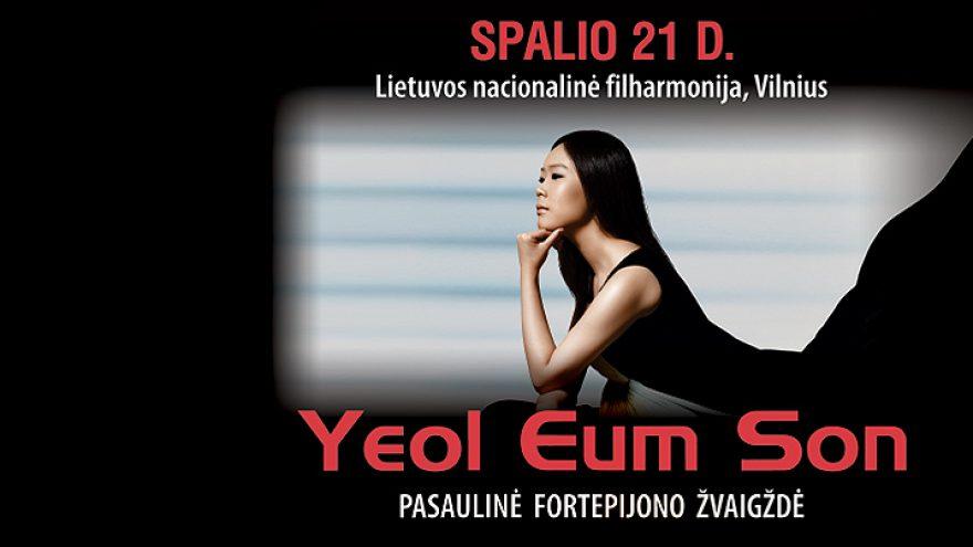 Pasaulinė fortepijono žvaigždė Yeol Eum Son
