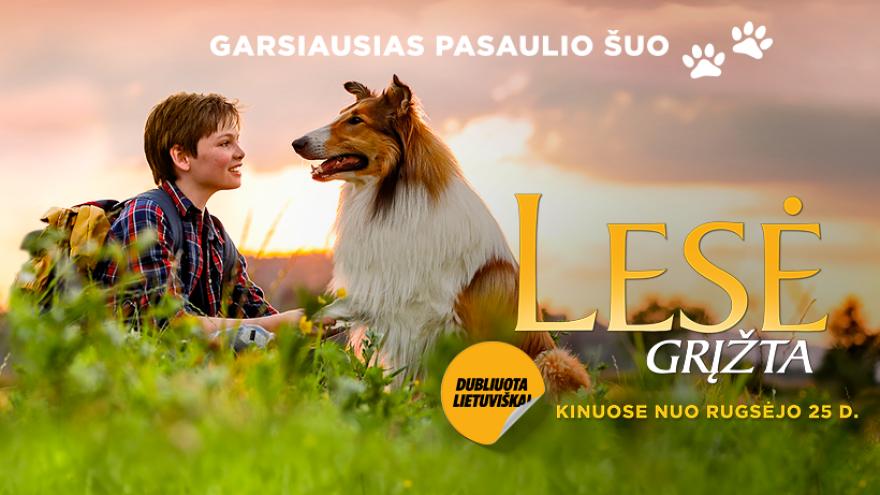 Kino teatras Arlekinas: Lesė grįžta