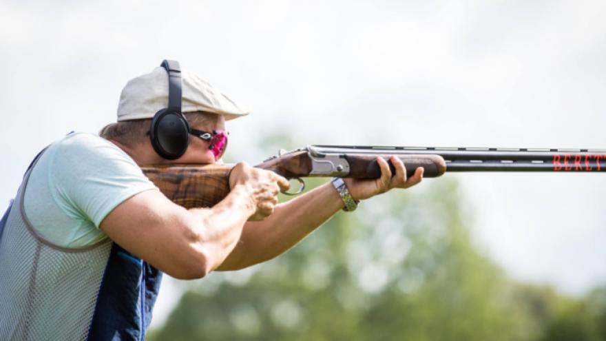 Lėkštučių šaudymas ShootingClub šaudykloje dviems