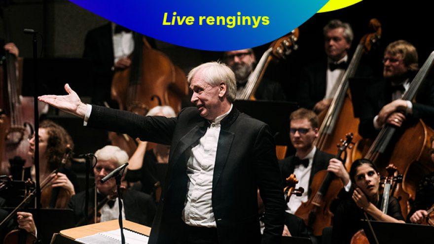 Live: LVSO SEZONO PRADŽIOS KONCERTAS Tiesioginė transliacija internetu