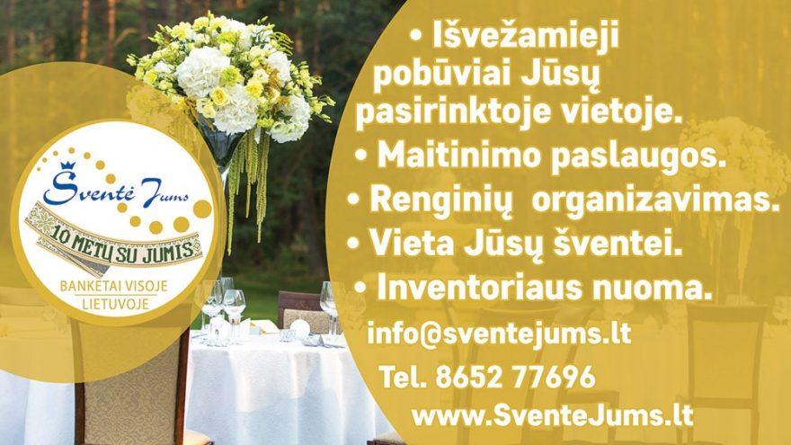 Šventė Jums – banketai visoje Lietuvoje