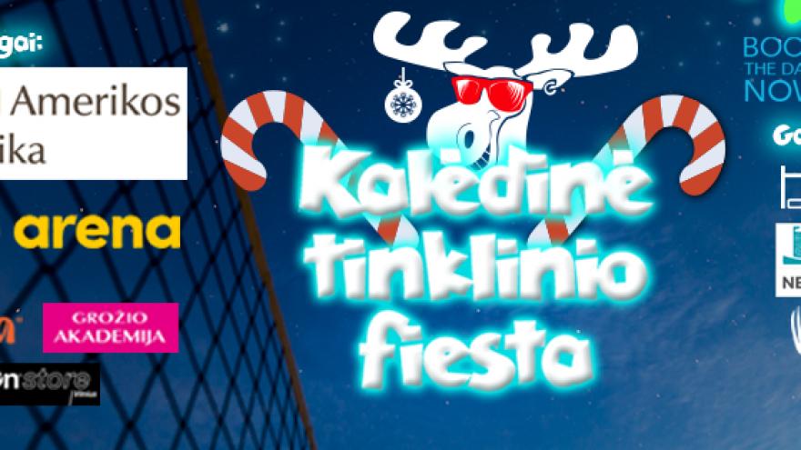 Kalėdinė tinklinio fiesta #BBC