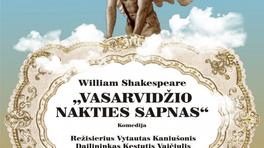 """V. Šekspyras """"Vasarvidžio nakties sapnas"""""""