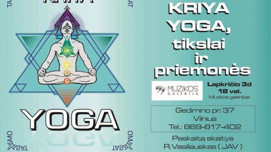 Kriya yoga. Tikslai ir priemonės