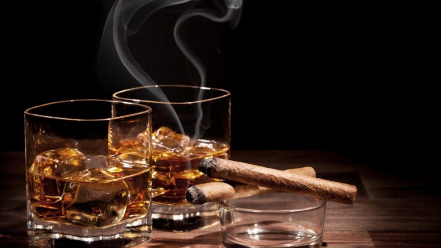 Viskio ir Cigarų vakaras