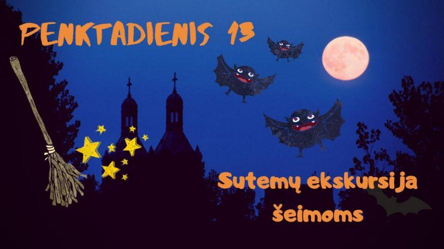 """Sutemų ekskursija """"Vilniaus šnabždesiai"""""""
