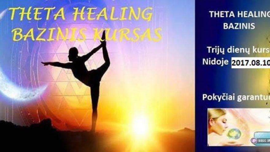 Baziniai Theta Healing® (Teta Gydymas) kursai Nidoje