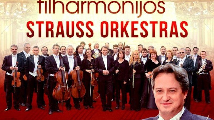 (VILNIUS) Vienos Filharmonijos Štrauso Orkestras