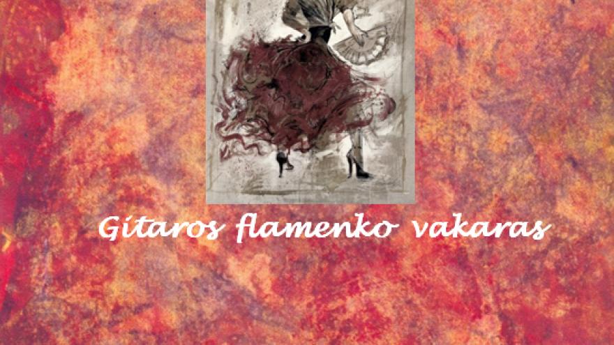 Mariaus Zablecko gitaros flamenko vakaras