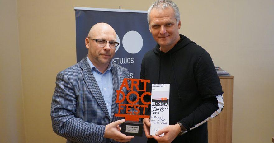 Opoziciniame Putino režimui kino festivalyje – apdovanojimas A. Stoniui