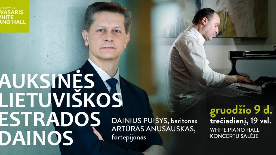 """Festivalis """"Muzikinės Kalėdos"""". AUKSINĖS LIETUVIŠKOS ESTRADOS DAINOS / Puišys / Anusauskas"""