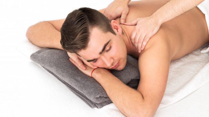 Pečių juostos ir sprando masažas