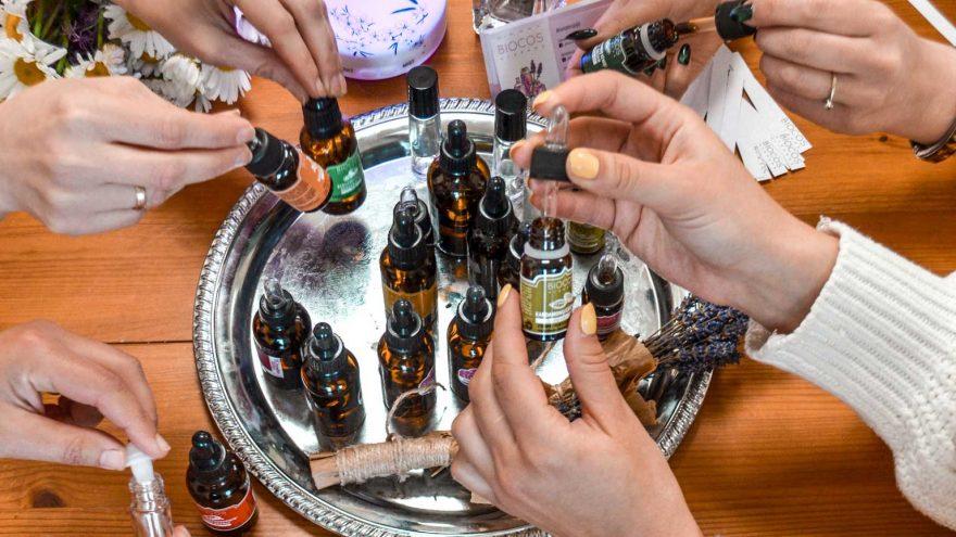 Aromaterapinių kvapų dirbtuvės