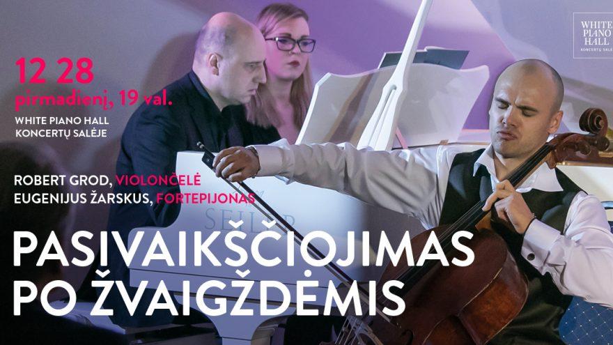 """Festivalis """"Muzikinės Kalėdos"""". PASIVAIKŠČIOJIMAS PO ŽVAIGŽDĖMIS / GROD / ŽARSKUS"""