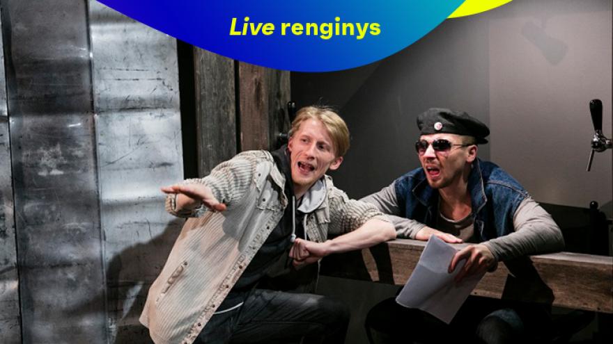 LIVE: Kauno miesto kamerinis teatras AKMENYS JO KIŠENĖSE (rež. G. Padegimas)