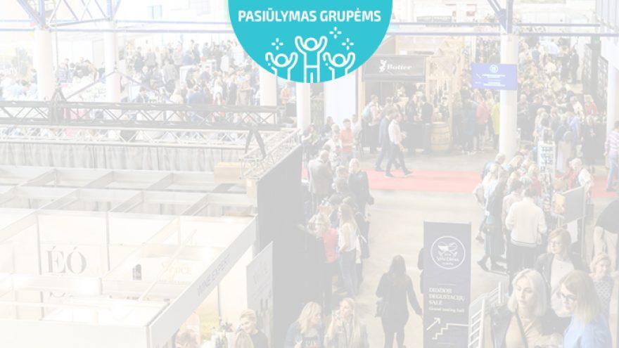 Pasiūlymai grupėms: Didžiausia vyno paroda Baltijos šalyse VYNO DIENOS