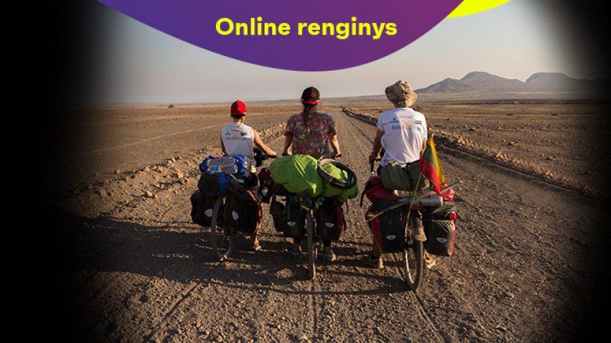 """Online: Kino filmas """"Dviračiais Afrikoje: Namibija"""""""