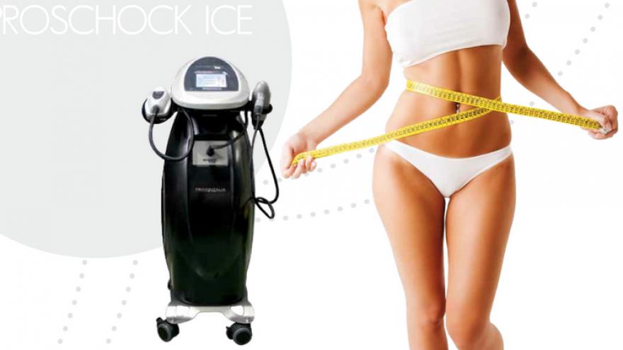 Šlaunų ir sėdmenų korekcija su PROSHOCK ICE