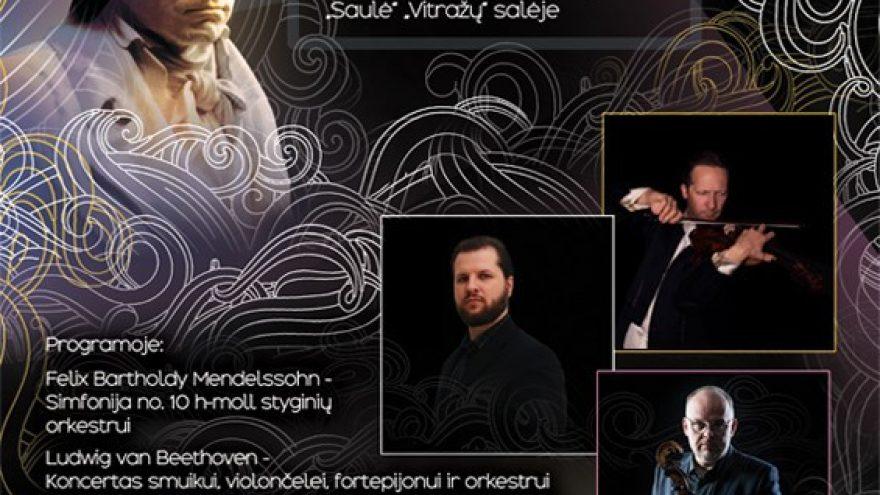 Koncertas, skirtas kompozitoriaus Ludwig van Beethoven 250-osioms gimimo metinėms