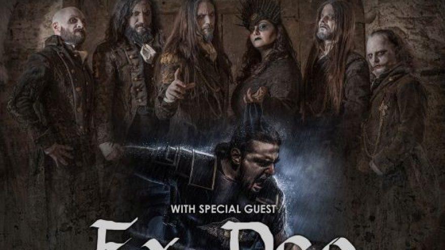 (Perkeltas) FLESHGOD APOCALYPSE + EX DEO + supports: Veleno Across Europe Tour 2021