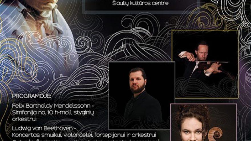 (Perkeltas) Koncertas, skirtas Kultūros dienai ir kompozitoriaus Ludwig van Beethoven 250-osioms gimimo metinėms