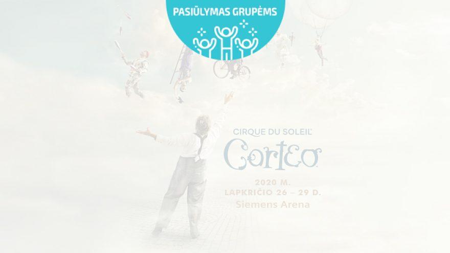 Pasiūlymai grupėms: CIRQUE DU SOLEIL – CORTEO