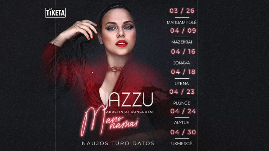 Jazzu akustiniai koncertai –  Mano namai