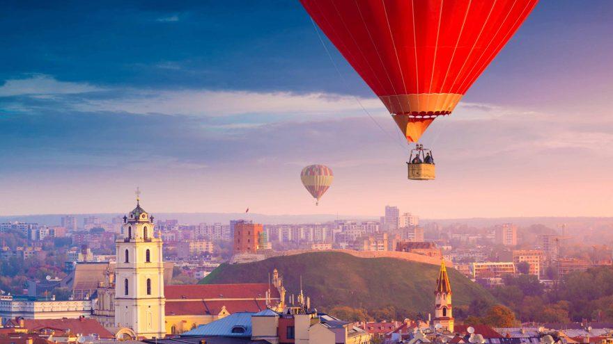 Nepamirštamas skrydis oro balionu