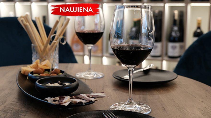 Vyno ir stipriųjų gėrimų degustacija