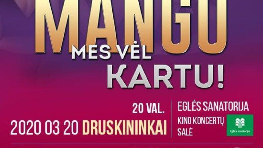 MANGO 20-mečio koncertai