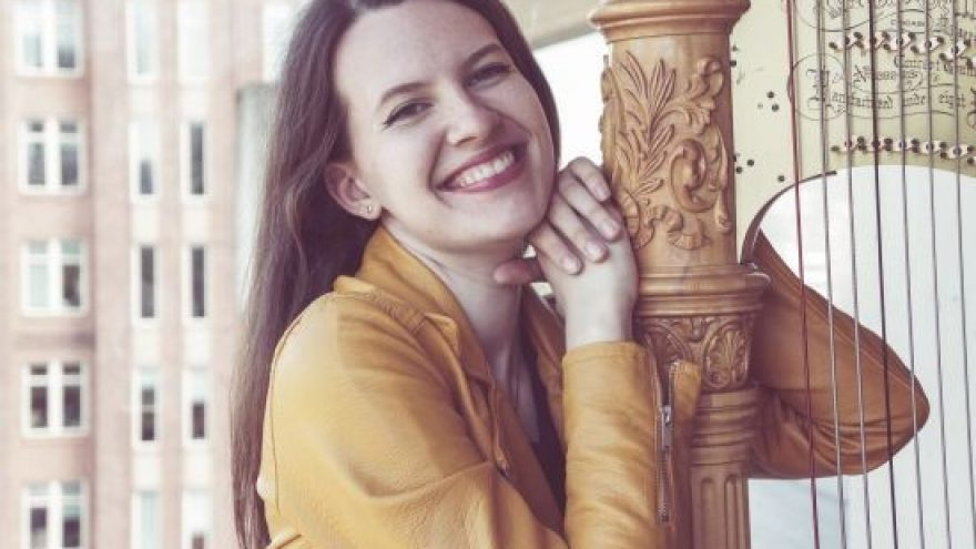 Liucilė Vilimaitė, arfa