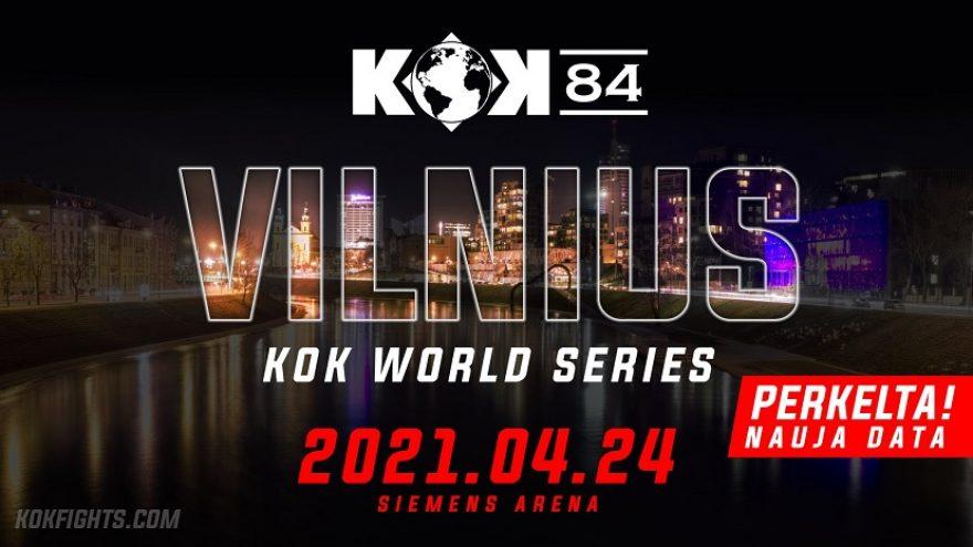 """Tarptautinis Bushido turnyras """"KOK'84 WORLD GP 2020 IN VILNIUS"""""""