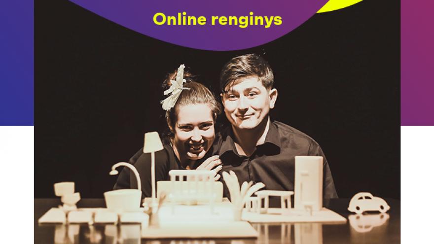 """Online: Lėlių spektaklis """"Namai"""""""