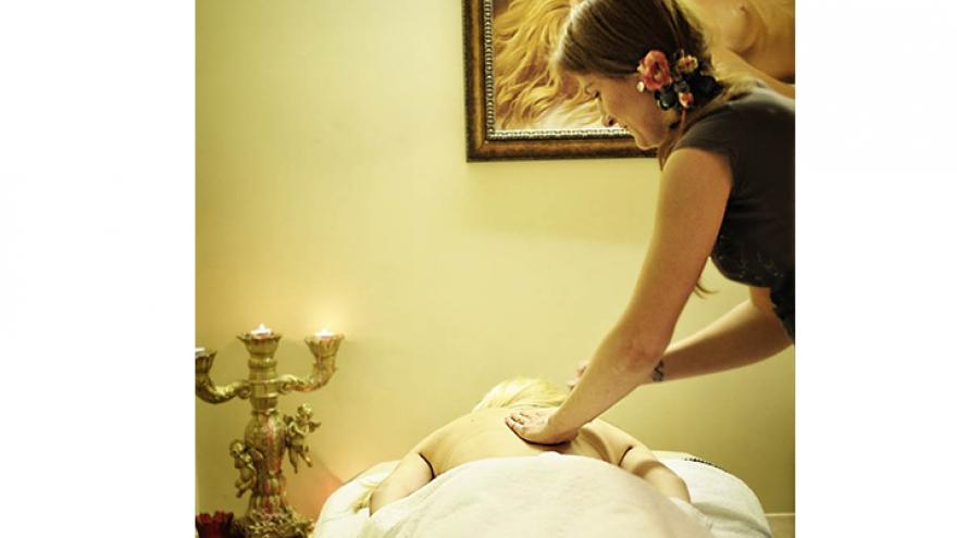 Pasirinktas kūno šveitimas ir masažas
