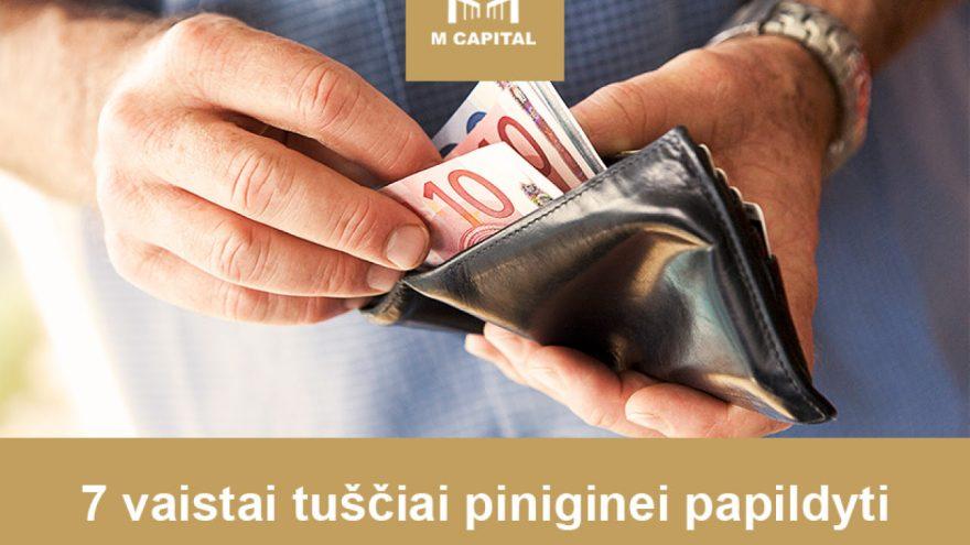 """""""7 vaistai TAVO piniginei pripildyti"""" Vilniuje"""
