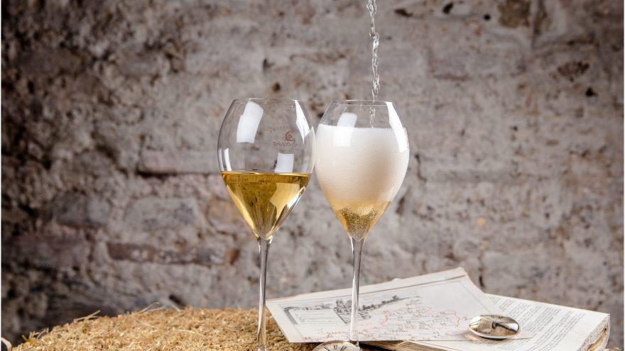 Klasikinių vynuogių šampanų degustacija dviems