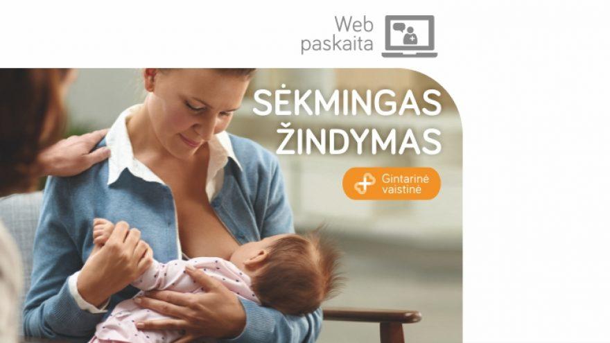 """LIVE: Web Seminaras """"Sėkmingas žindymas"""""""