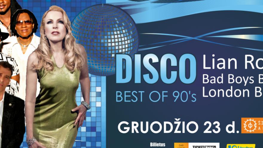 90-ųjų geriausieji | DISCO | Šiauliai