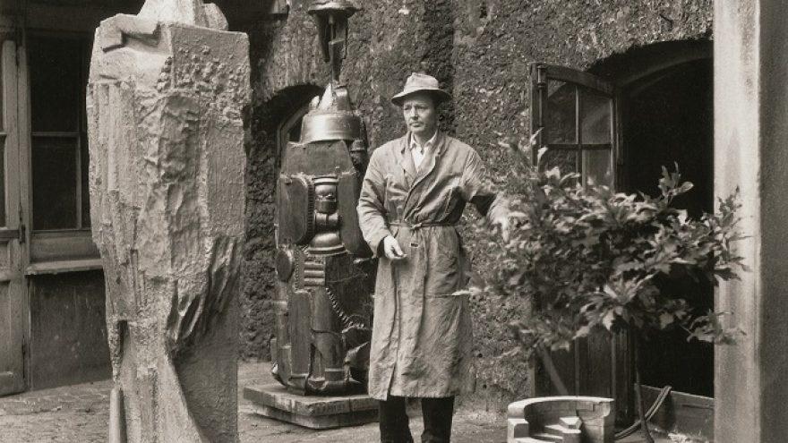 Antano Mončio skulptūrų ir piešinių paroda