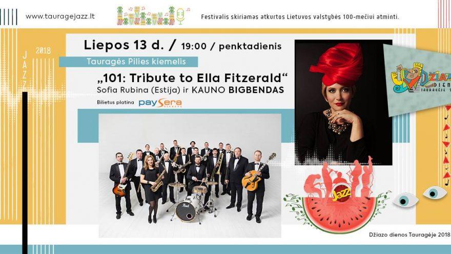 """101: Tribute to Ella Fitzerald"" (Estija – Lietuva)"