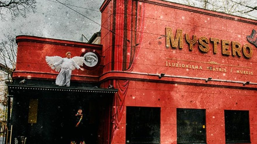 Virtual tour of the Magic Theater and Museum MYSTERO