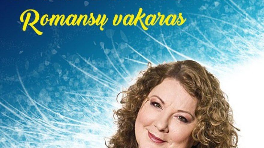 Aktorė LARISA KALPOKAITĖ ROMANSŲ VAKARAS
