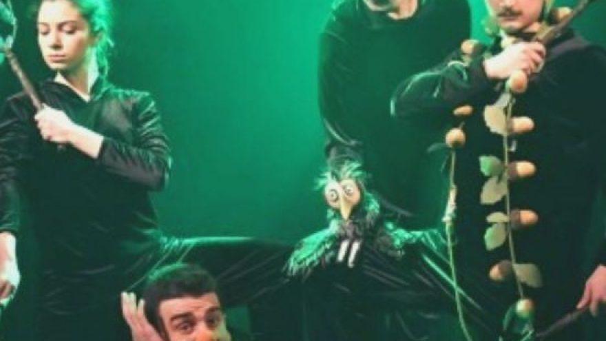 """Gruzinų vaikų teatras """"Mozardi"""" (Tbilisis): """"Skruzdė ir Blusa"""""""