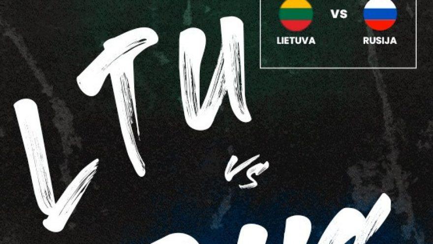Pasiruošimas Olimpinės atrankos turnyrui: Lietuva – Rusija