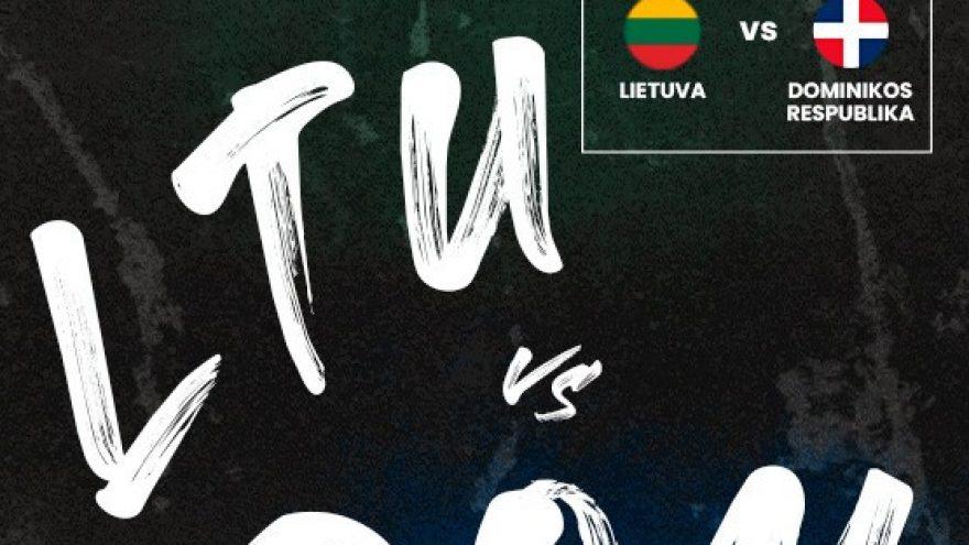 Pasiruošimas Olimpinės atrankos turnyrui: Lietuva – Dominikos Respublika